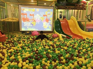 Reall case of Small Indoor playground in Bangladesh