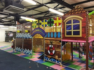Successful indoor playground in South Africa