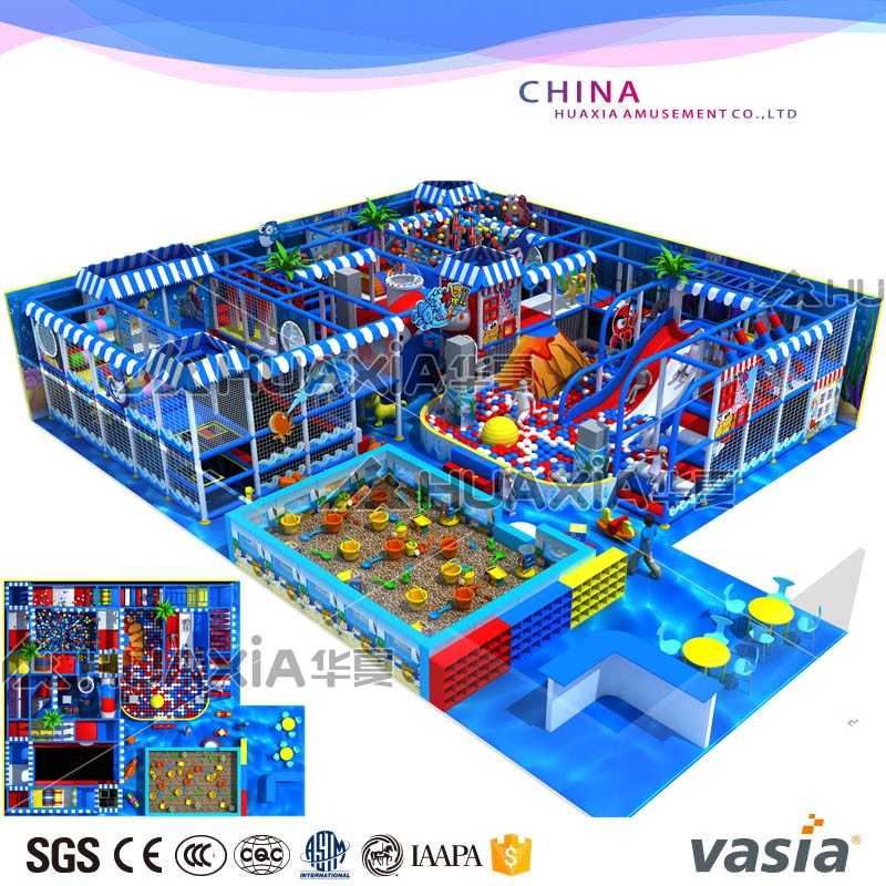 children indoor playground VS1-160412-168A-29