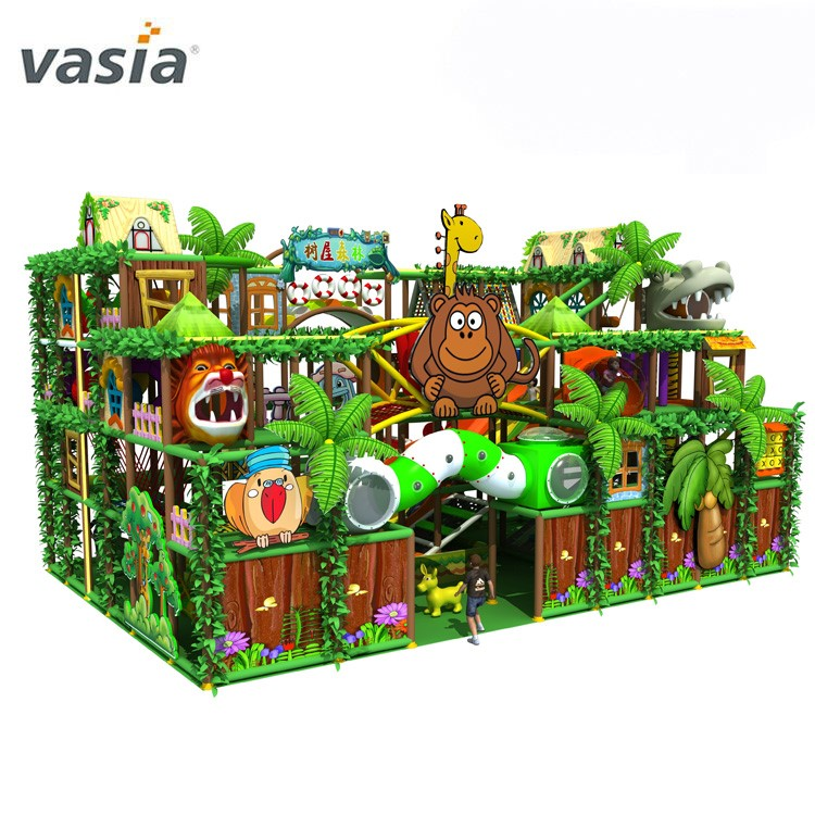 2019 New Indoor Jungle Playground Equipment