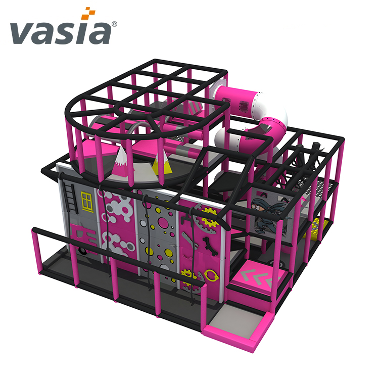 hot children ninja school indoor soft playground for sale