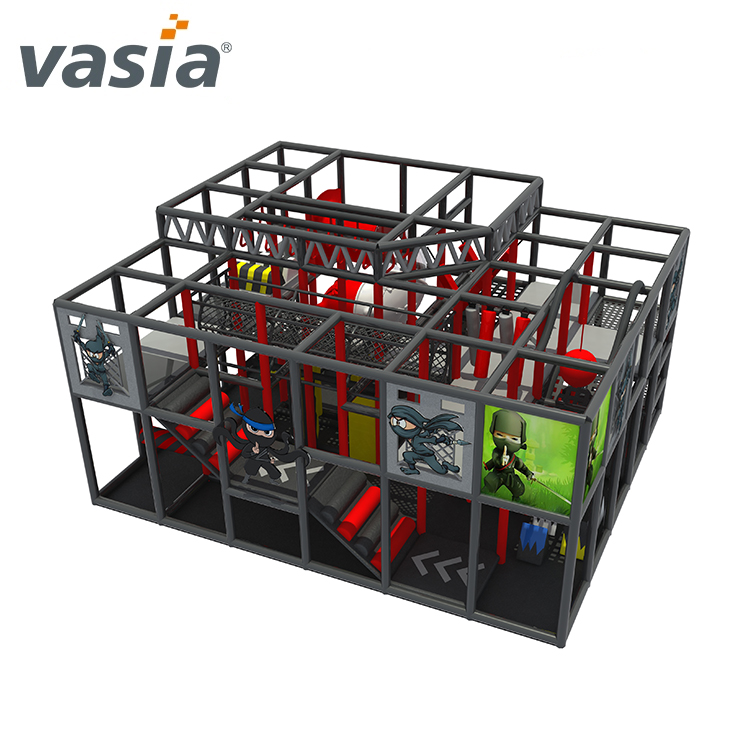 children ninja school indoor soft playground for sale